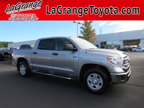 Pre-Owned 2015 Toyota Tundra 2WD Truck CrewMax 5.7L V8 6-Spd AT SR5