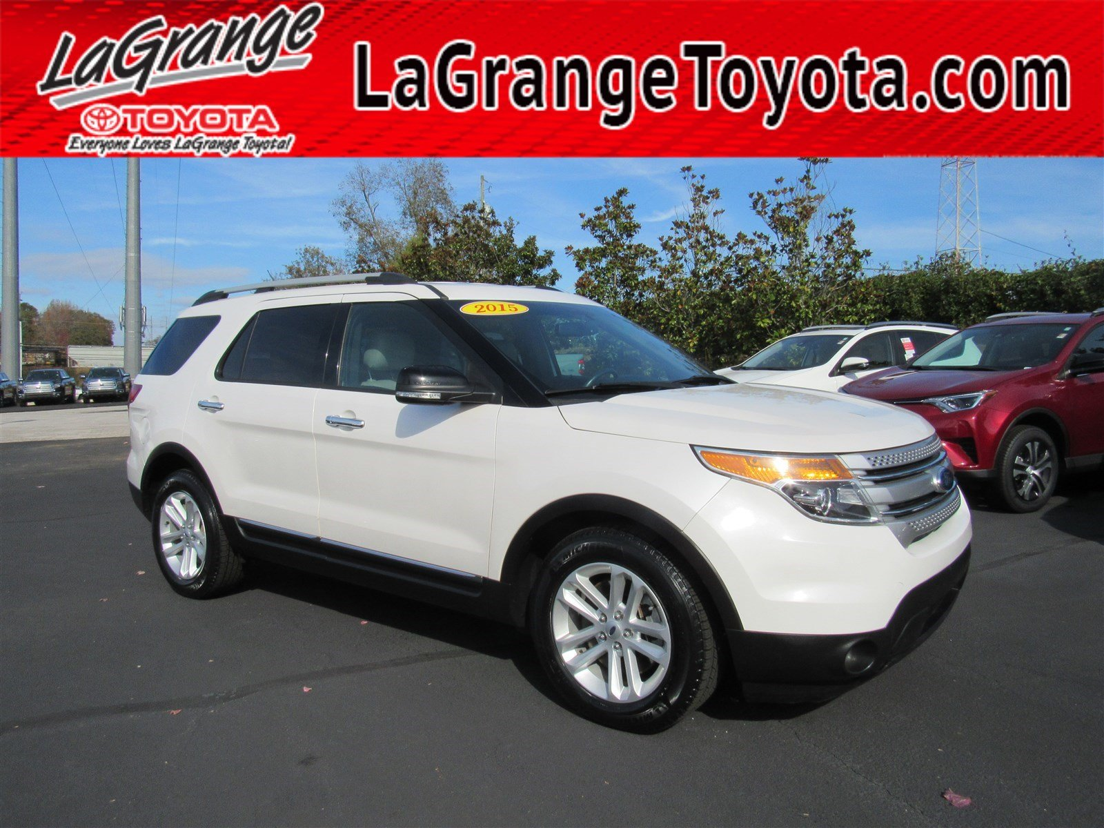Pre owned 2015 ford explorer fwd 4dr xlt