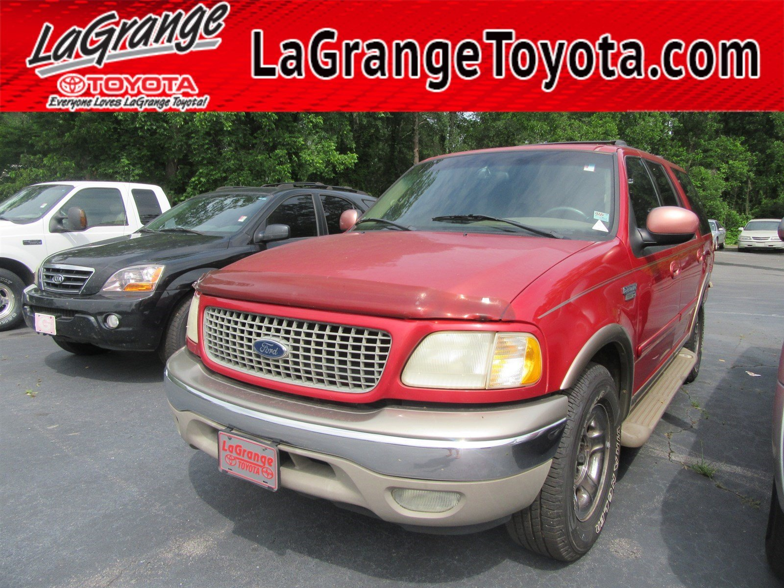 Pre owned 2000 ford expedition 119 wb eddie bauer suv in lagrange