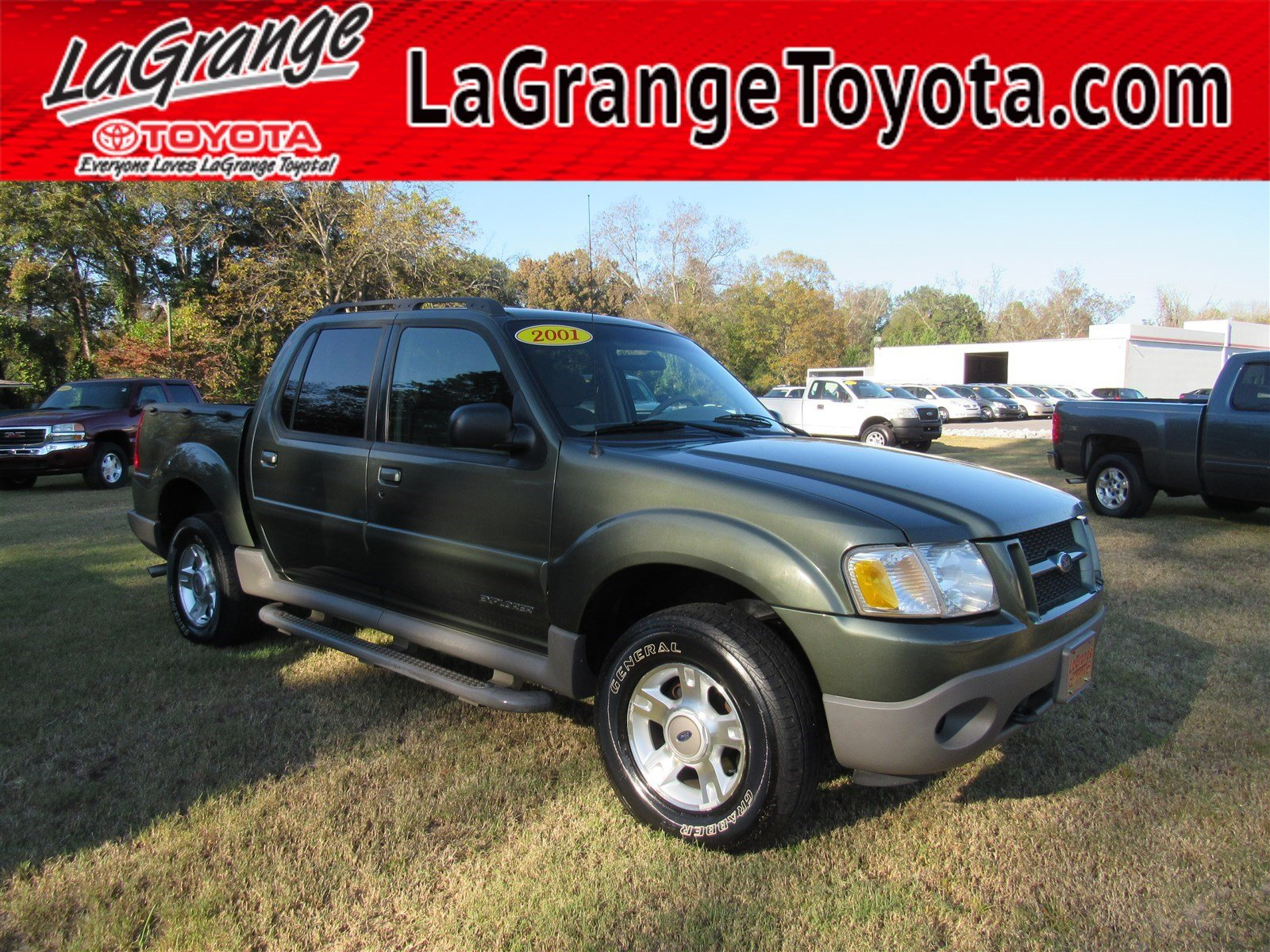 Pre owned 2001 ford explorer sport trac 4dr 126 wb