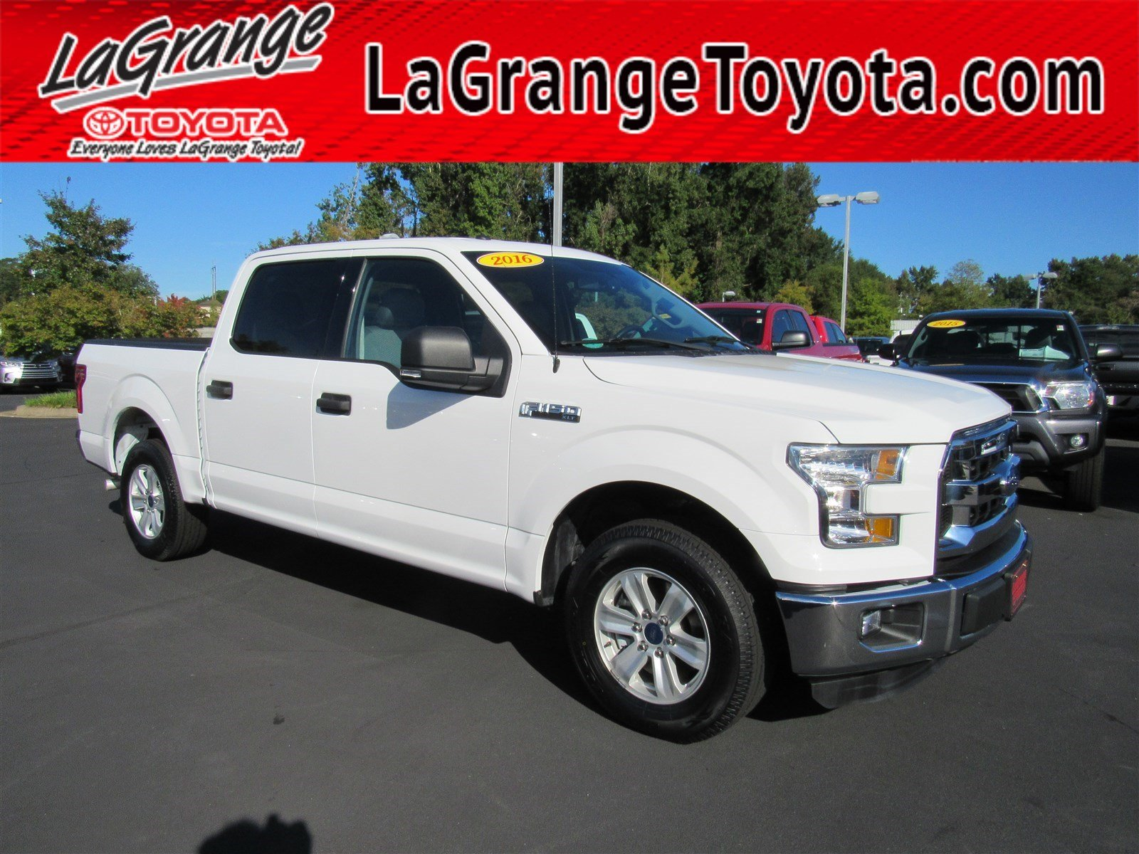Pre owned 2016 ford f 150 2wd supercrew 145 xlt