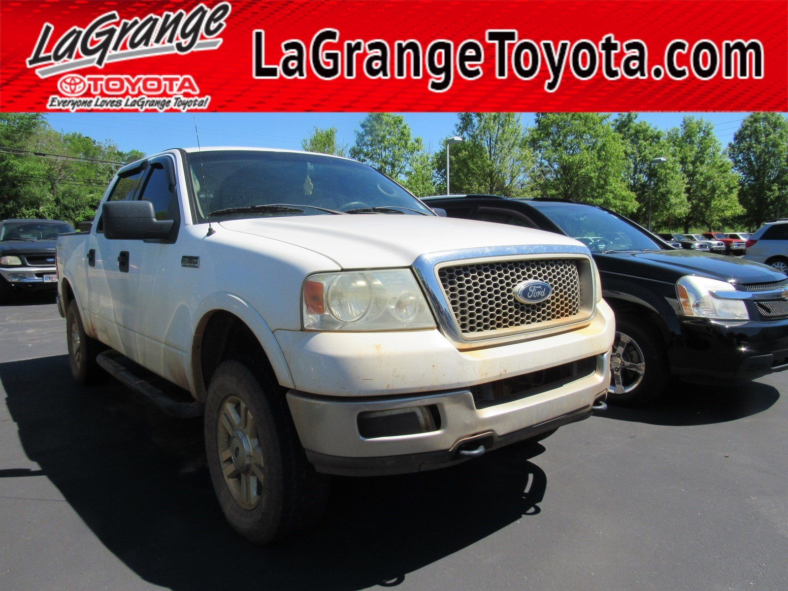 Pre Owned 2004 Ford F 150 Supercrew 139 Lariat 4wd