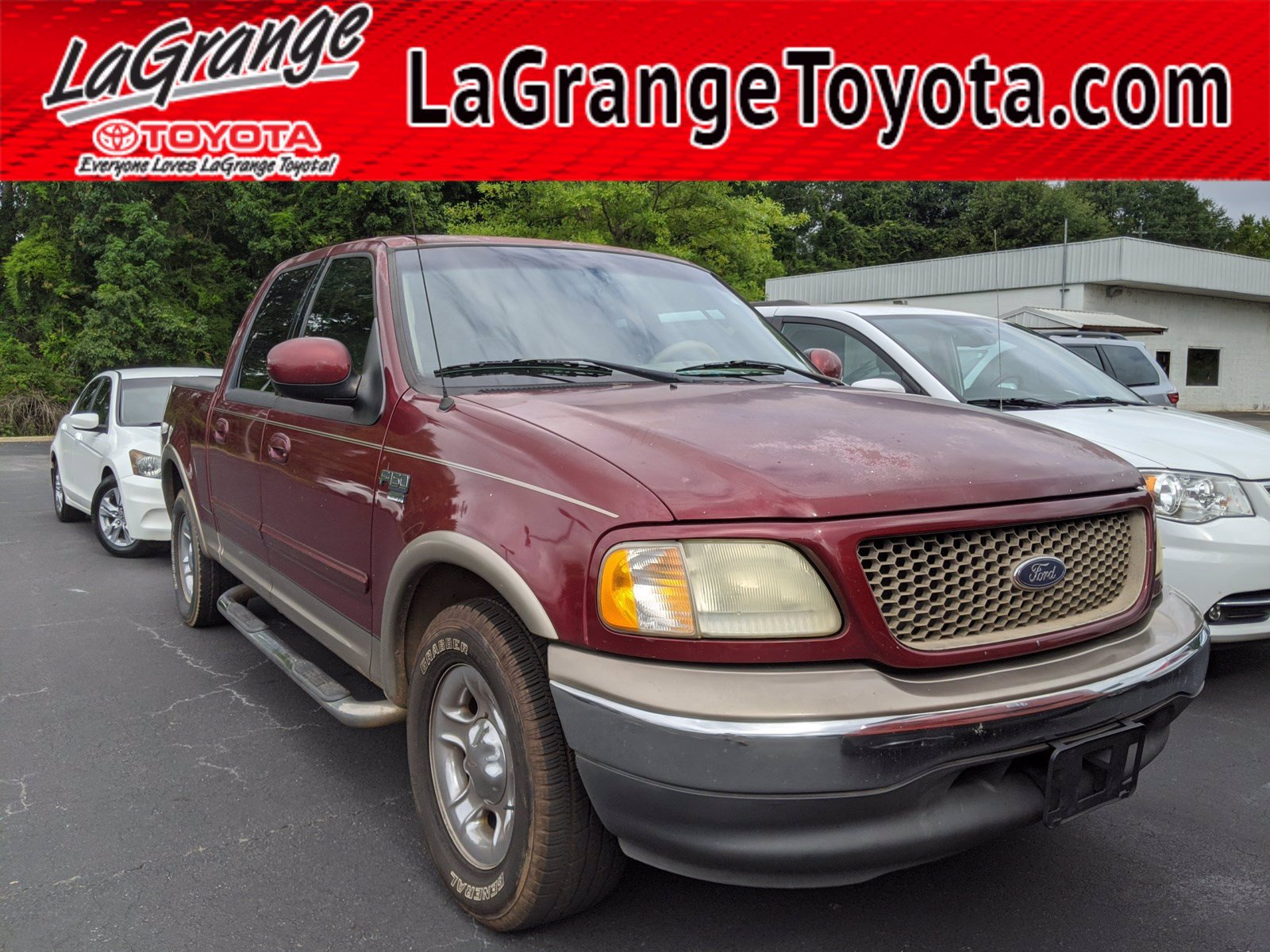 Pre-Owned 2003 Ford F-150 SuperCrew 139 Lariat