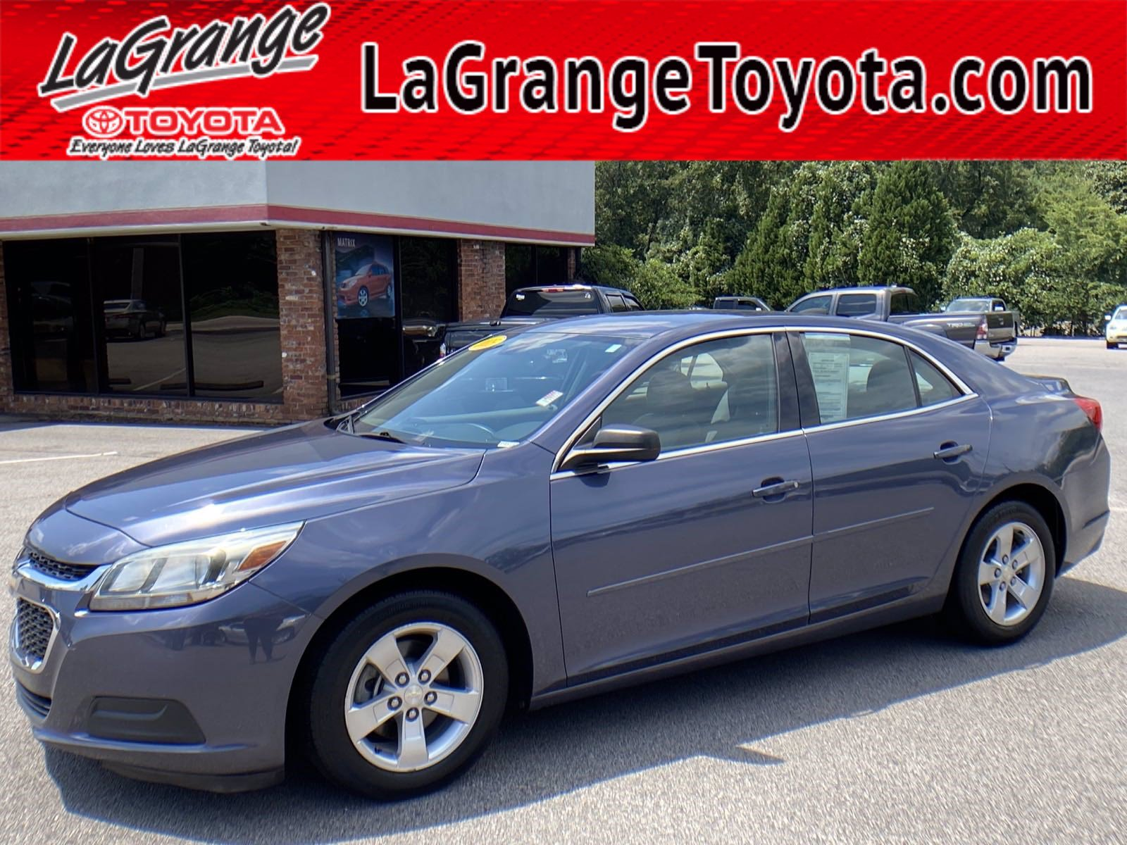 Pre-Owned 2015 Chevrolet Malibu 4dr Sdn LS w/1LS