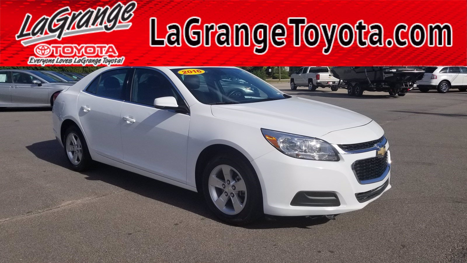 Pre-Owned 2016 Chevrolet Malibu Limited 4dr Sdn LT
