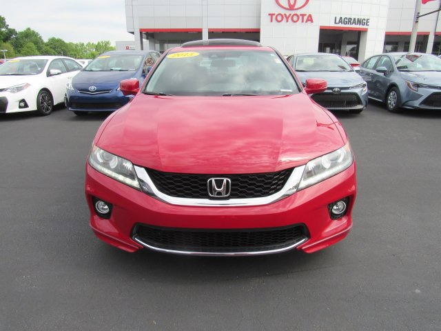 Pre-Owned 2015 Honda Accord Coupe 2dr V6 Auto EX-L Front Wheel Drive Coupe