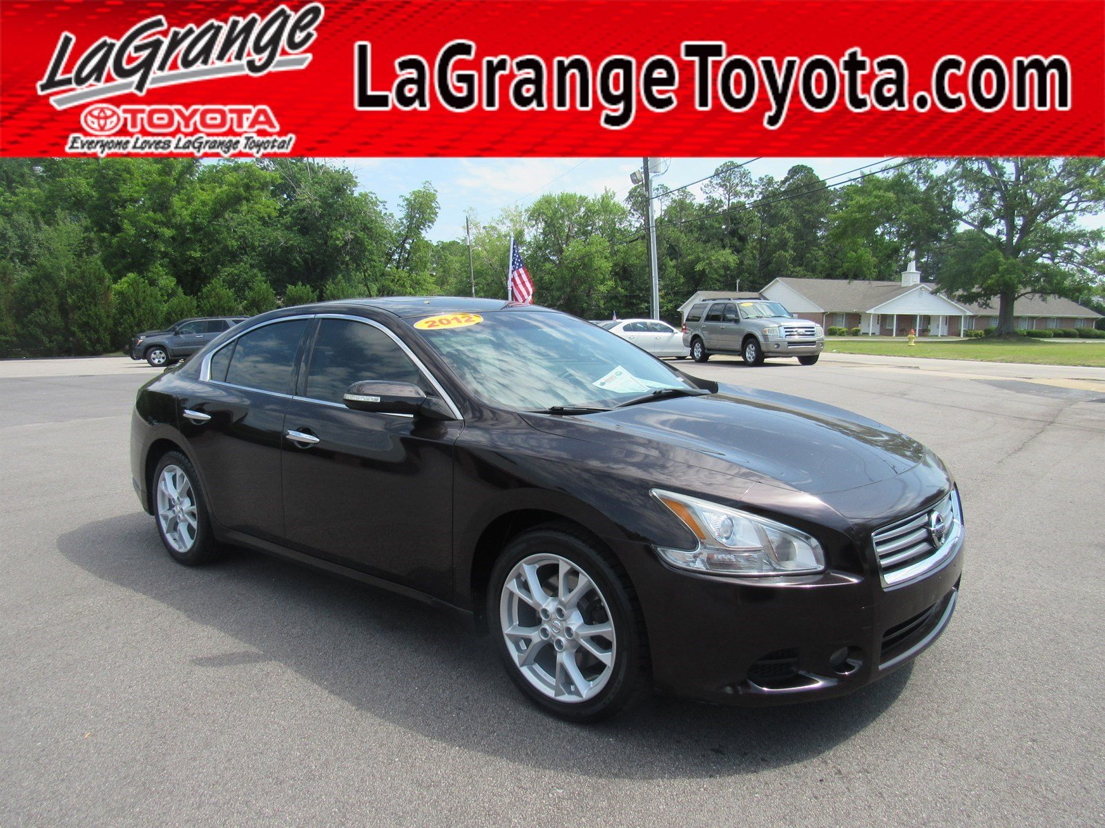 Pre-Owned 2012 Nissan Maxima 4dr Sdn V6 CVT 3.5 SV
