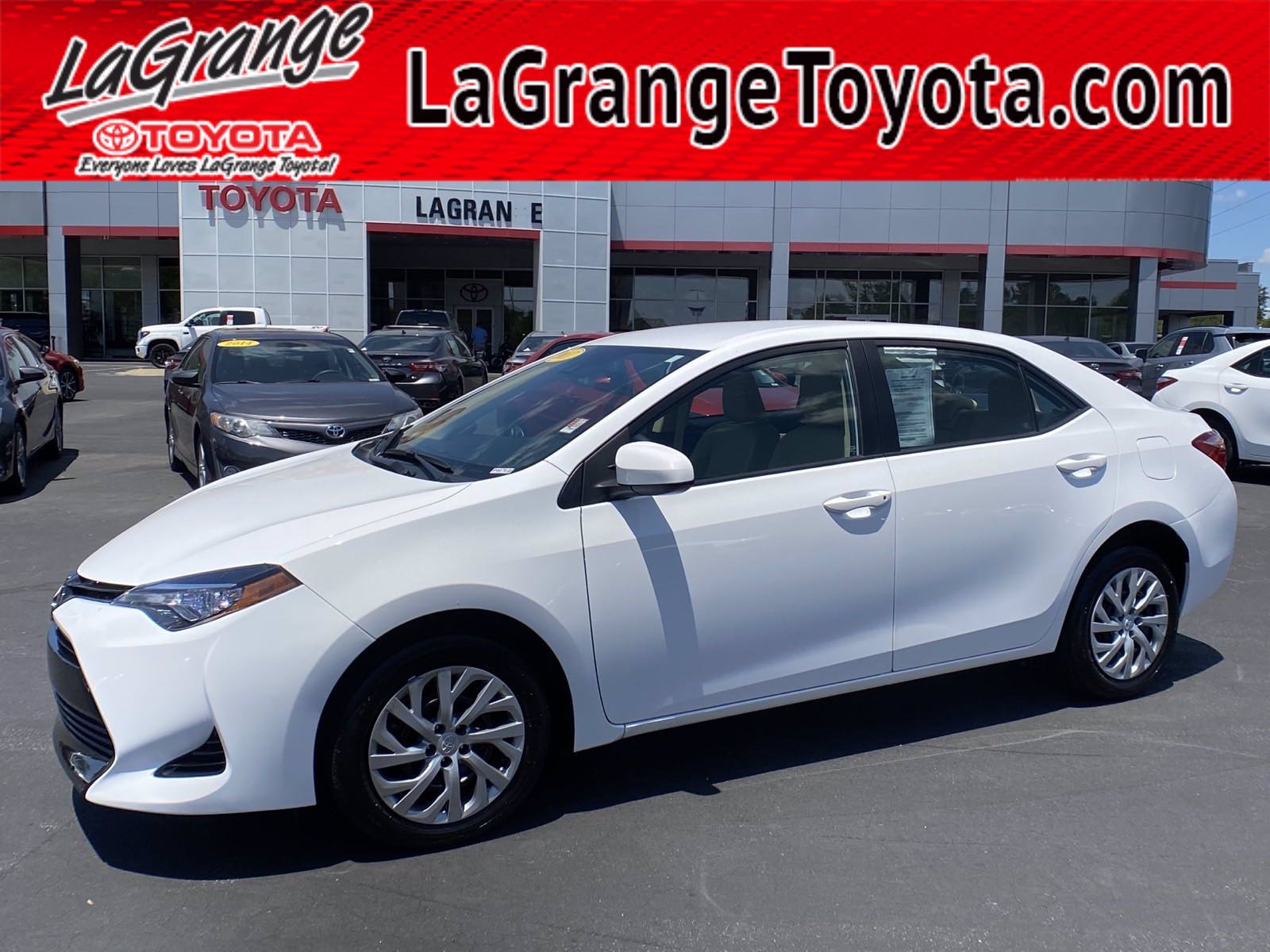 Pre-Owned 2017 Toyota Corolla L CVT (Natl)
