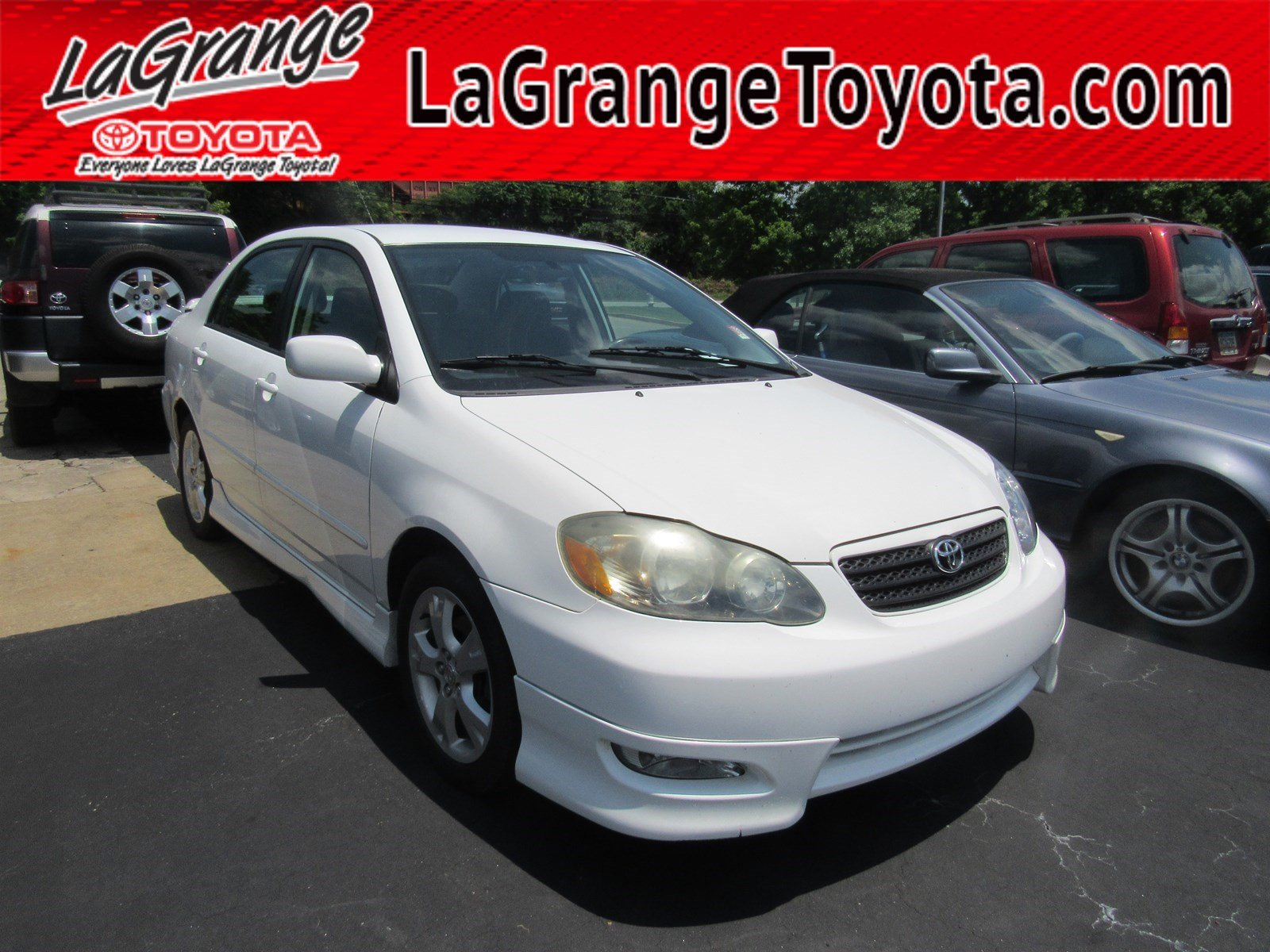 Pre-Owned 2006 Toyota Corolla 4dr Sdn XRS Manual