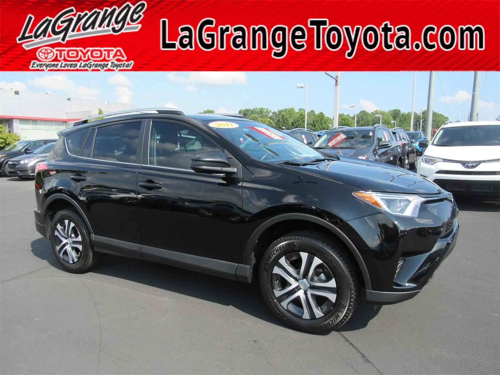 Pre Owned 2017 Toyota Rav4 Le Fwd Suv In Lagrange M9506a 2007 Fuel Filter