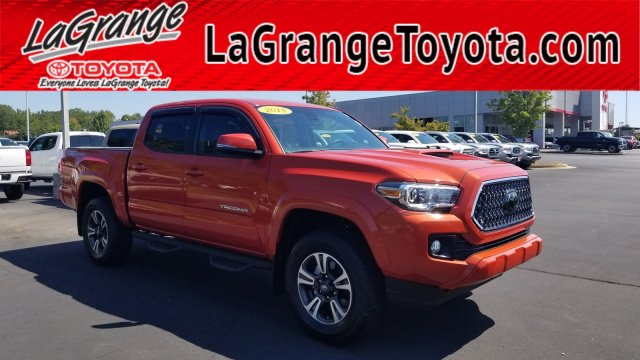 Pre-Owned 2018 Toyota Tacoma TRD Sport Double Cab 5' Bed V6 4x2 AT