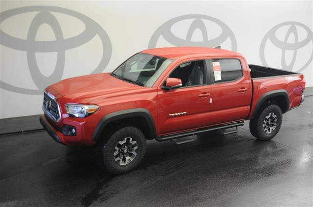 New 2019 Toyota Tacoma 2WD TRD Off Road Double Cab 5' Bed V6 AT Pickup Truck