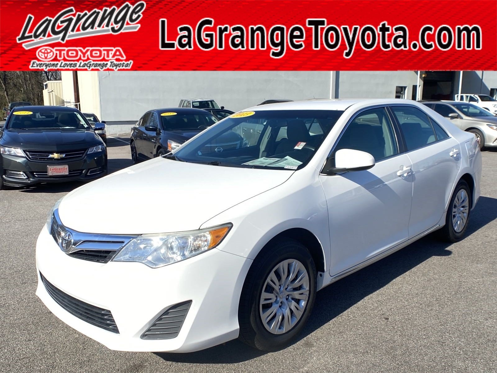 Pre-Owned 2013 Toyota Camry 4dr Sdn I4 Auto L