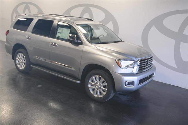 New 2018 Toyota Sequoia Platinum Rwd