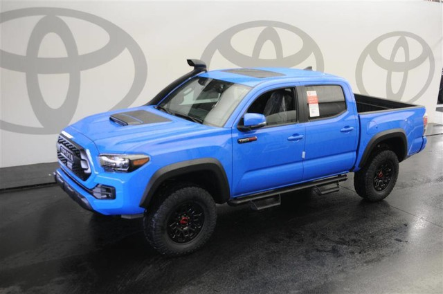 New 2019 Toyota Tacoma 4wd Trd Pro Double Cab 5 Bed V6 At