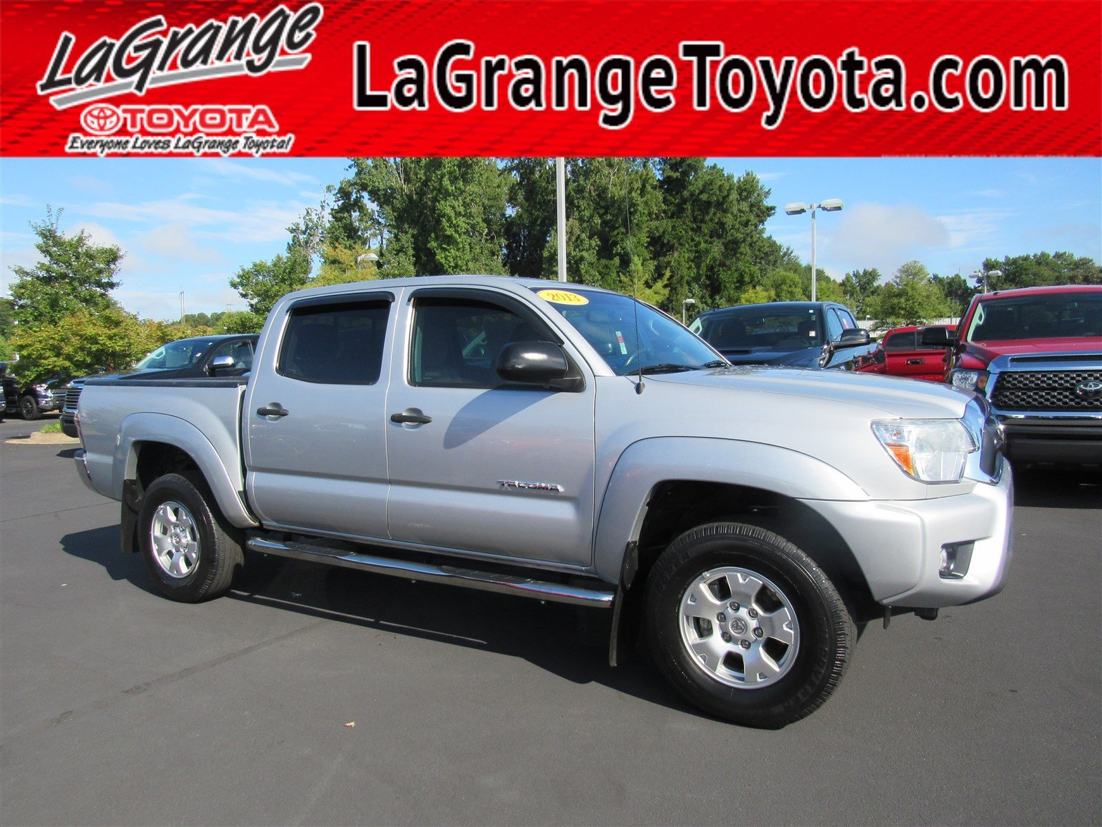 Pre Owned 2013 Toyota Tacoma 2WD Double Cab V6 AT PreRunner