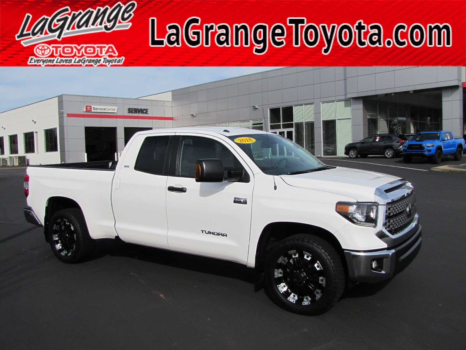 Pre-Owned 2018 Toyota Tundra 2WD SR Double Cab 6.5' Bed 5.7L