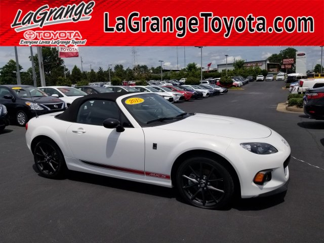 Pre-Owned 2015 Mazda MX-5 Miata 2dr Conv Man Club