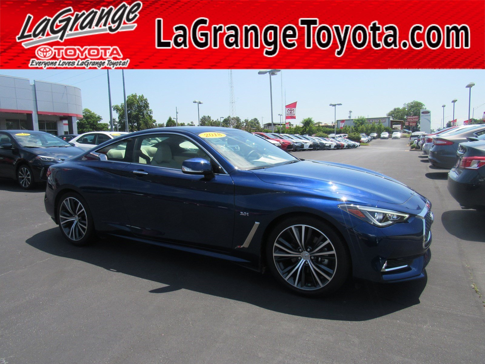 Pre-Owned 2018 INFINITI Q60 3.0t LUXE RWD