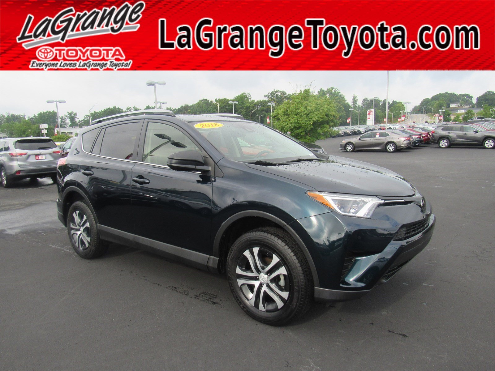 Pre-Owned 2018 Toyota RAV4 LE FWD