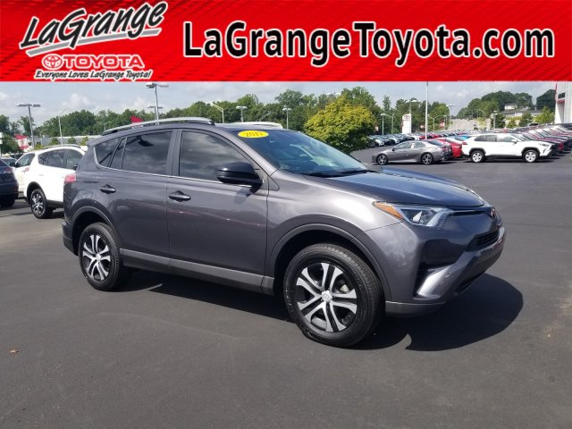 Pre Owned 2017 Toyota Rav4 Le Fwd Front Wheel Drive Suv