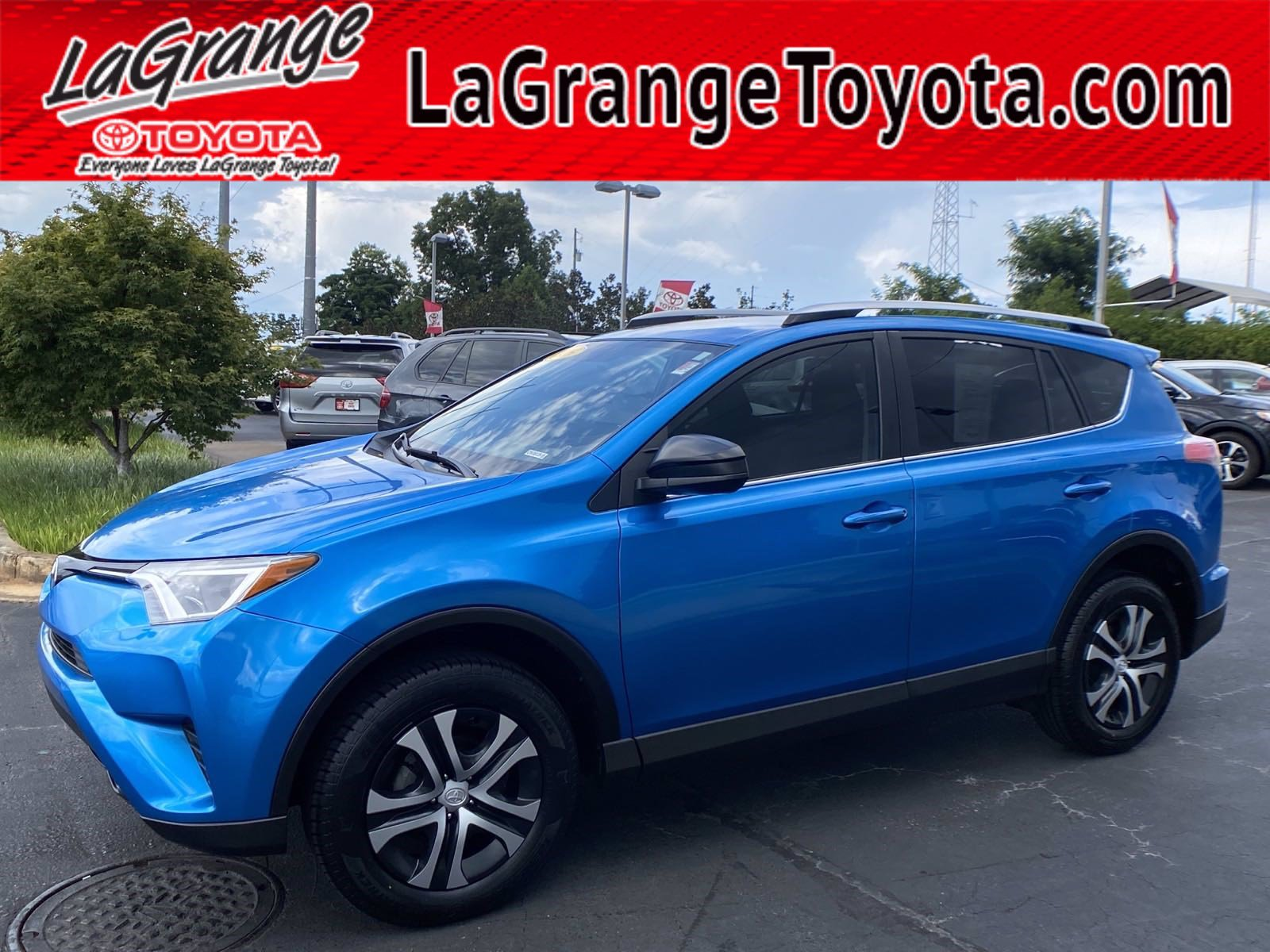 Pre-Owned 2016 Toyota RAV4 FWD 4dr LE (Natl)