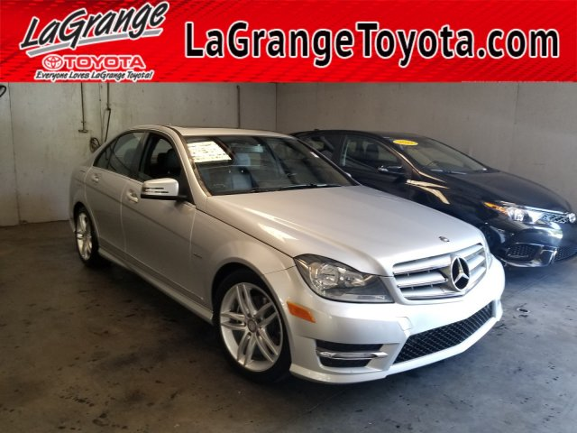 Pre Owned 2012 Mercedes Benz C Class 4dr Sdn C 250 Luxury Rwd Rear Wheel Drive Sedan