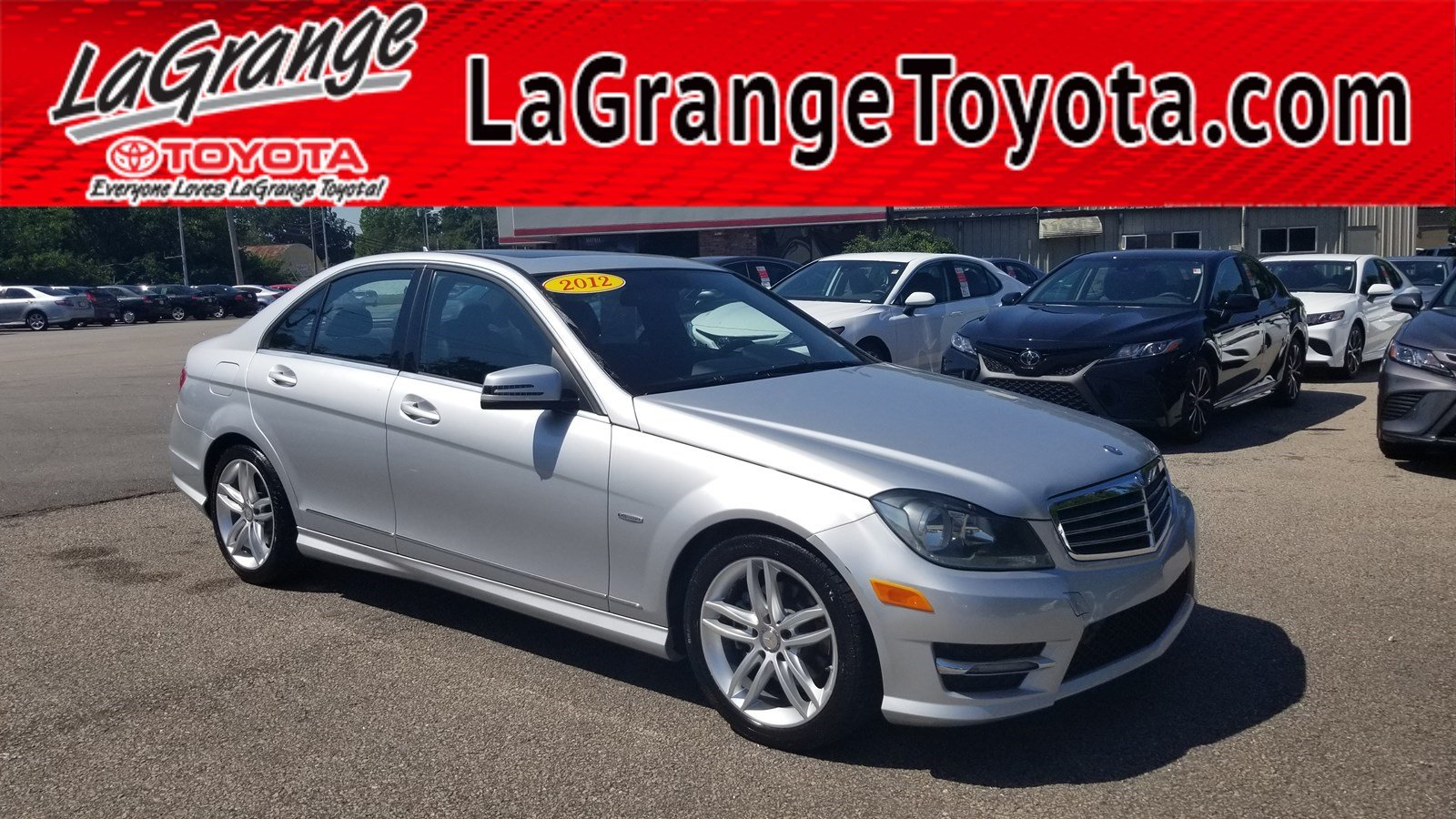 Pre-Owned 2012 Mercedes-Benz C-Class 4dr Sdn C 250 Luxury RWD