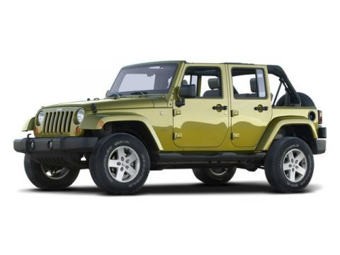 Pre-Owned 2008 Jeep Wrangler 4WD 4dr Unlimited Rubicon