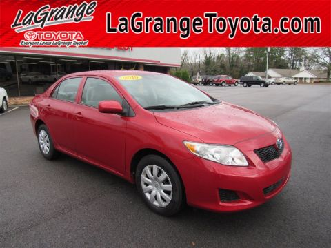 Pre-Owned 2010 Toyota Corolla 4dr Sdn Man