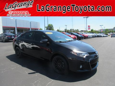 Pre-Owned 2016 Toyota Corolla 4dr Sdn CVT S w/Special Edition Pkg
