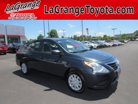 Pre-Owned 2017 Nissan Versa Sedan S Manual