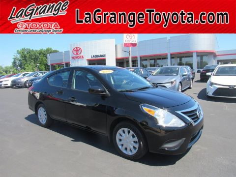 Pre-Owned 2018 Nissan Versa Sedan 2018.5 S Plus CVT