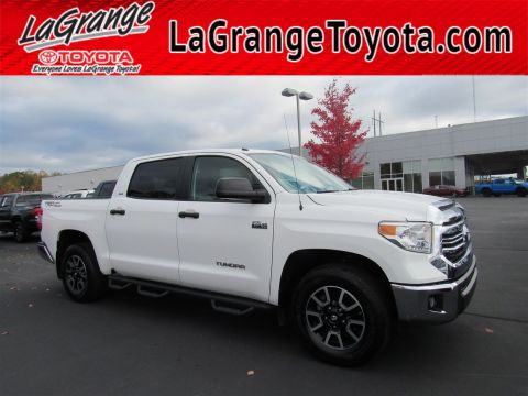 Pre-Owned 2017 Toyota Tundra 2WD SR5 CrewMax 5.5' Bed 5.7L FFV