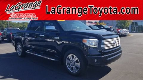 Pre-Owned 2014 Toyota Tundra 2WD Truck CrewMax 5.7L V8 6-Spd AT Platinum