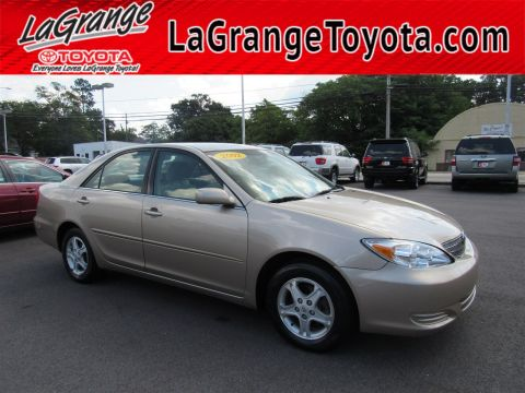 Pre-Owned 2002 Toyota Camry 4dr Sdn LE Auto